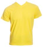 Yellow tshirt isolated Royalty Free Stock Image