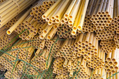 Yellow Tube royalty free stock images