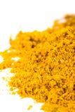 Yellow turmeric Stock Image