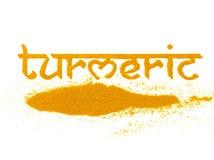 Yellow turmeric spice Royalty Free Stock Photography
