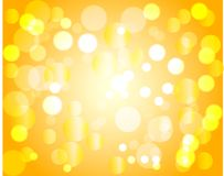 Yellow twinkle Stock Images