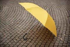 Yellow umbrella Royalty Free Stock Images