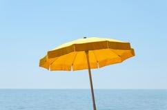 Yellow umbrella Royalty Free Stock Photos
