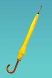 Yellow umbrella Stock Photo