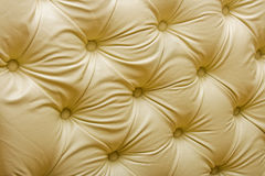 Yellow upholster pattern Stock Images