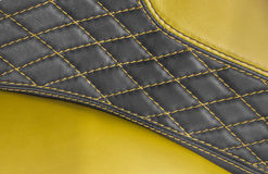 Yellow upholstery Stock Photos