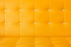 Yellow upholstery leather Royalty Free Stock Photography