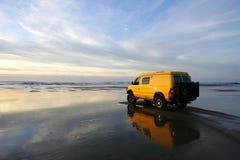 Yellow Van Stock Images