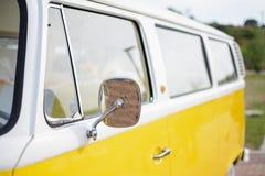 Yellow van Stock Image