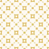 Yellow vector seamless pattern. Retro vintage style. Summer design for decor, fabric, clothing, textile. Yellow vector seamless pattern. Simple geometric texture stock illustration