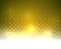 Yellow vector textured shiny abstract background Stock Photo