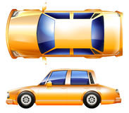 A yellow vehicle Stock Photography