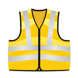 Yellow vest vector illustration