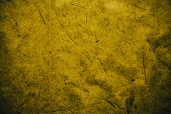 Yellow vintage background. Rough yellow texture and background for designers. Close up view of abstract dark yellow texture made w. Ith recycle paper. Plant Royalty Free Stock Photo