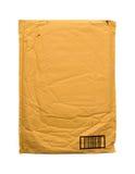 Yellow vintage envelope Royalty Free Stock Photo