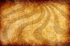 Yellow vintage grunge background with sun rays Royalty Free Stock Images