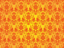 Yellow Vintage Style Background. Vector Illustration Royalty Free Stock Image
