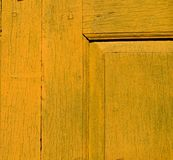 Yellow vintage wood texture Stock Image