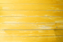 Yellow Vintage Wooden Background, Copy Space Royalty Free Stock Photo