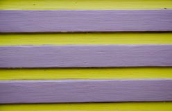 Yellow and Violet Line Stock Image