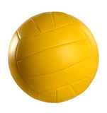 Yellow Volleyball Royalty Free Stock Photo