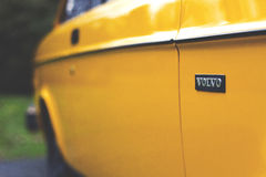 Yellow Volvo Stock Images