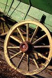 Yellow Wagon Wheel Stock Photos