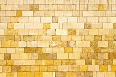 Yellow wall Stock Images