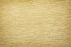 Yellow wall background texture Stock Image