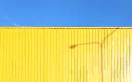 Yellow Wall royalty free stock images