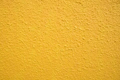 Yellow wall texture Royalty Free Stock Image