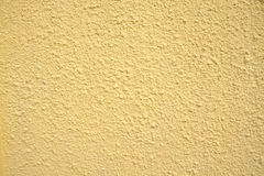 Yellow wall texture. For background Royalty Free Stock Photography