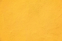 Yellow wall texture Stock Image