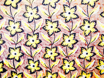 Yellow wallpaper Stock Photo