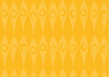 Yellow wallpaper pattern. Vector art Royalty Free Illustration