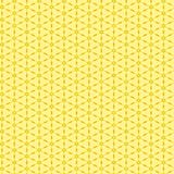 Yellow Wallpaper Pattern Royalty Free Stock Photography
