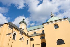 Franciscan church in Poznan Stock Photos