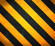 Yellow Warning Stripes Background Stock Photo