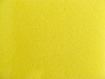 Yellow washing sponge texture Stock Photo