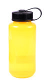 Yellow water bottle Stock Photo