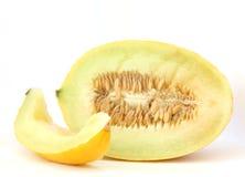 Yellow water melon Stock Photos