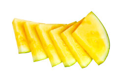 Yellow Water Melon Royalty Free Stock Image
