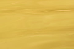Yellow water surface Stock Photography
