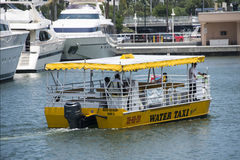 Yellow Water Taxi Royalty Free Stock Image