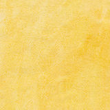 Yellow watercolor background. With pattern Stock Photography