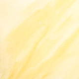 Yellow watercolor painting Stock Image