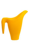 Yellow watering-can Stock Image