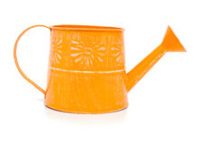 Yellow watering can Royalty Free Stock Image