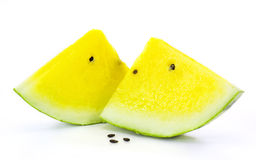 Yellow watermelon Stock Photography