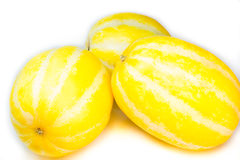 Yellow watermelon Stock Photo